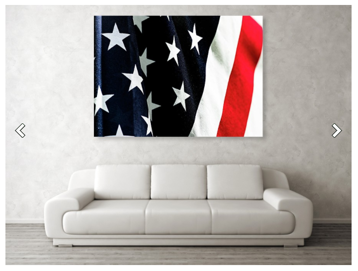 Americana wall art: American Flag, Old Glory, Stars and Stripes, photography products gift ideas